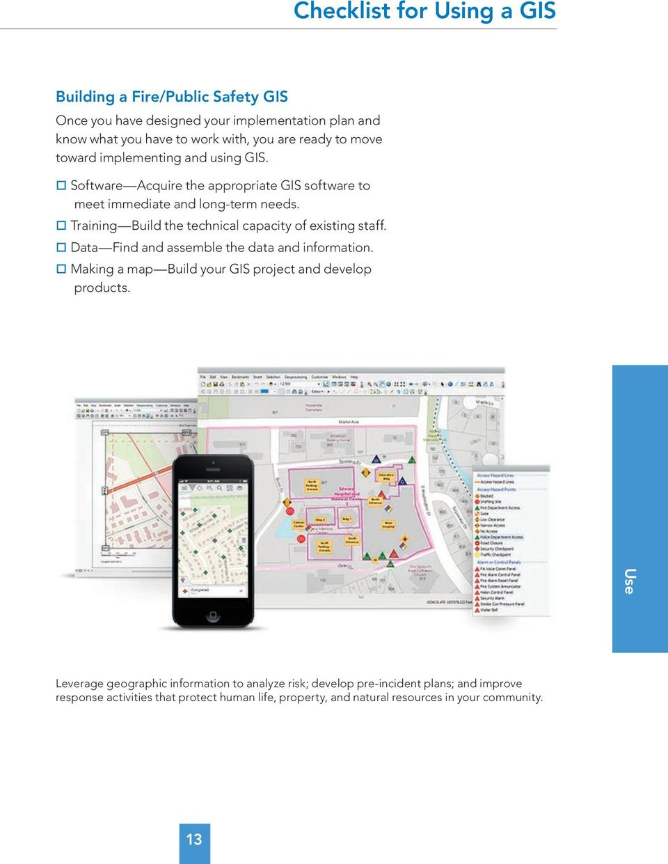 A Quick Guide to Building a GIS  For Your Public Safety
