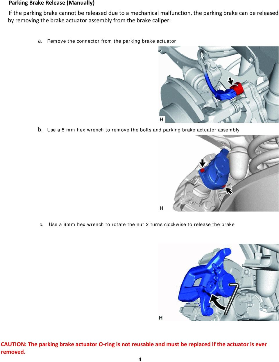 NX 300h / NX 200t Rear Brake Service  Quick Training Guide  Outline
