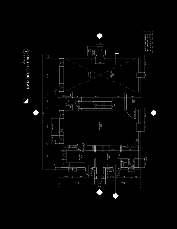 Working Drawings Floor Plans Cmce 1110 Construction Drawings