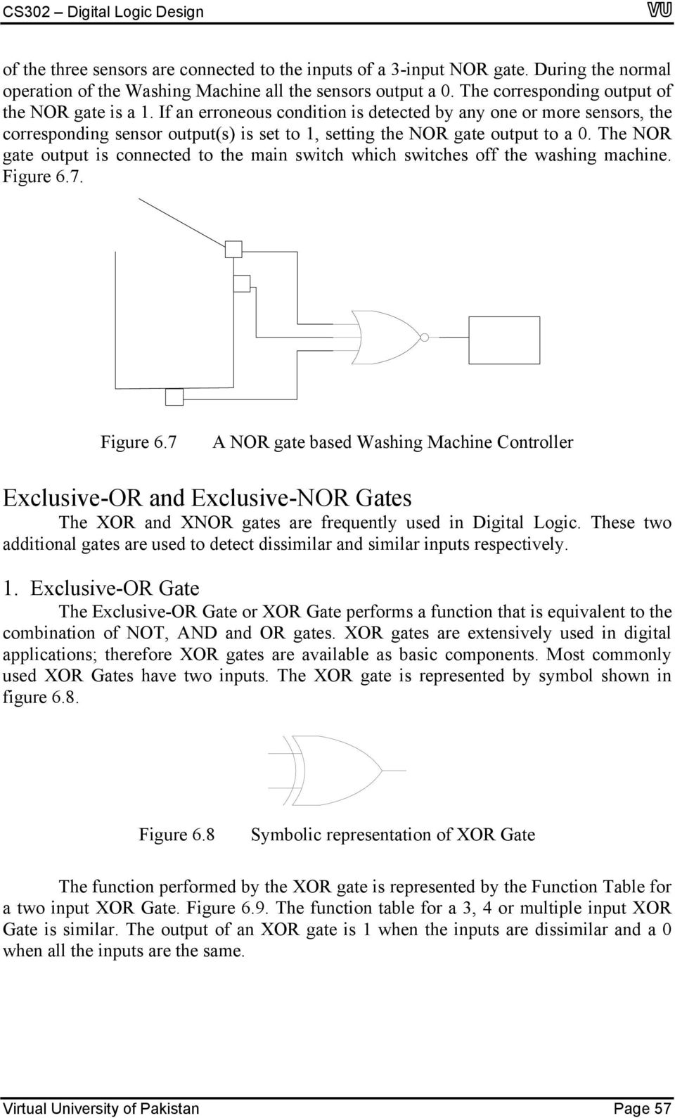 And Or Nand Nor Xor Xnor logic gates & operational characteristics - pdf free download