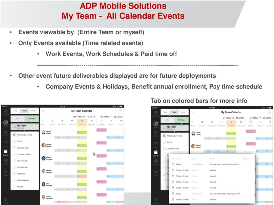 ADP Mobile Solutions Tablet  Available for download - 4/7/ PDF