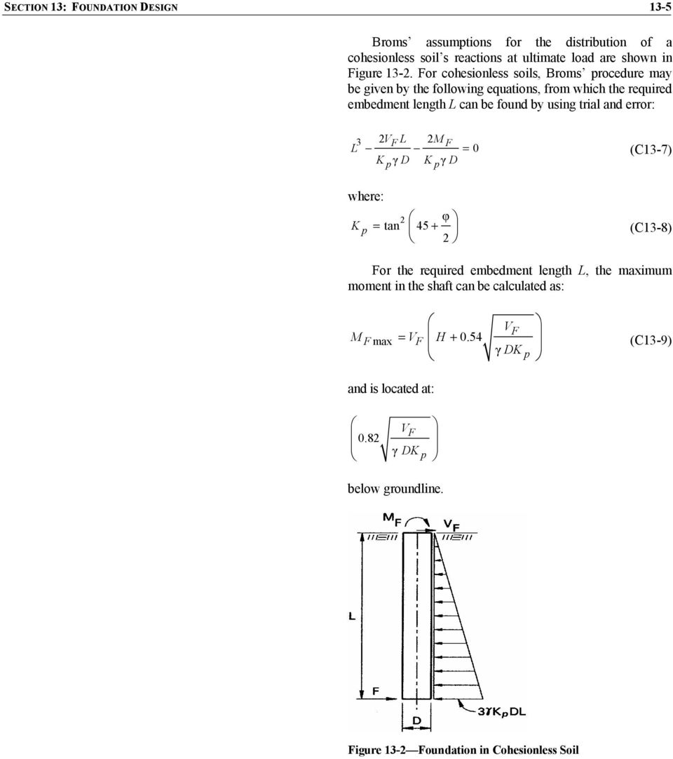 13 1 SCOPE DEFINITIONS NOTATION DETERMINATION OF SOIL