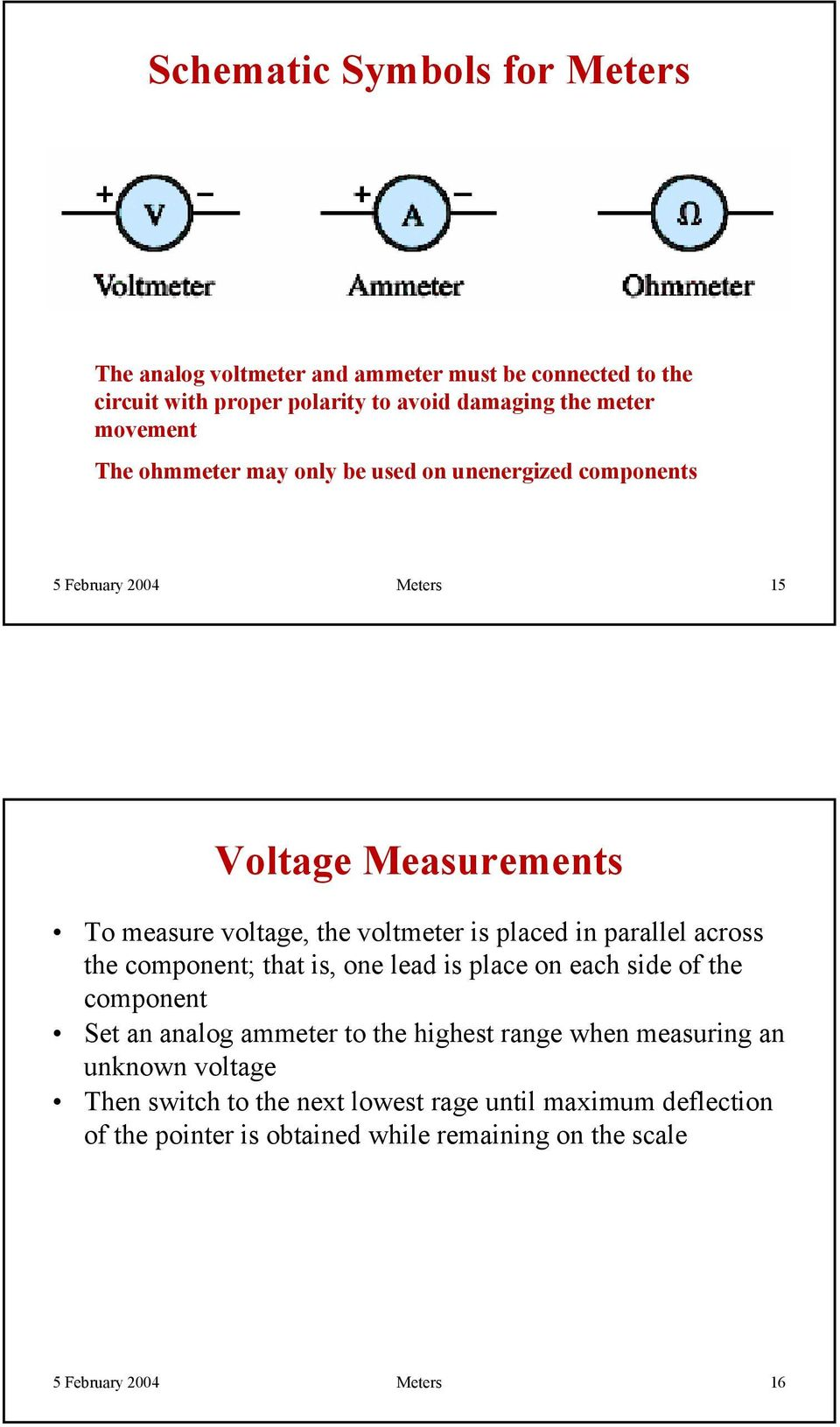 Analog And Digital Meters Pdf