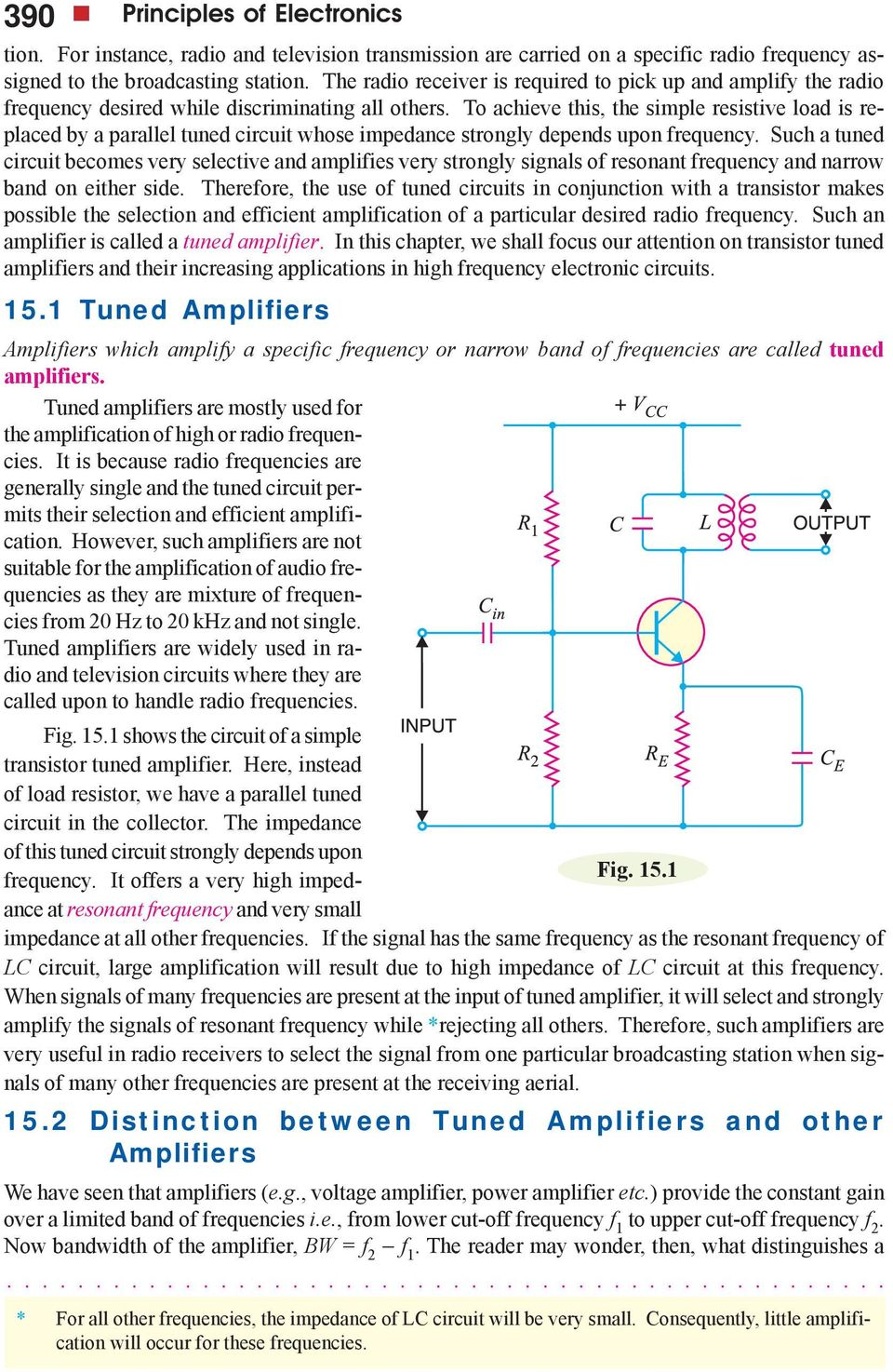 Transistor Tuned Amplifiers Pdf Basic Principles Of The Lc Resonance Circuit To Achieve This Simple Resistive Load Is Replaced By A Parallel Whose