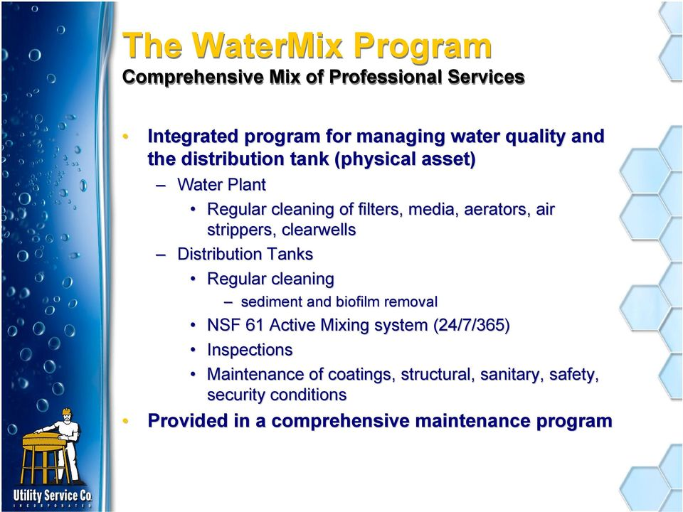 Chemical Cleaning of Water Filter Media WaterMix  Pete