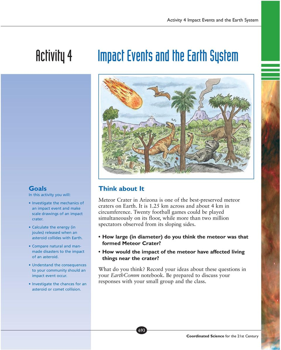 Impact Events and the Earth System - PDF