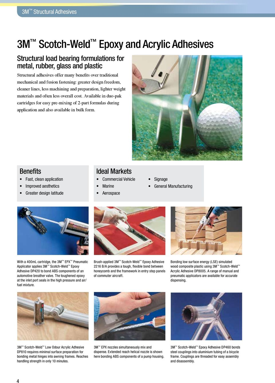 Bonding  Solutions  Key Product Guide  3M Industrial