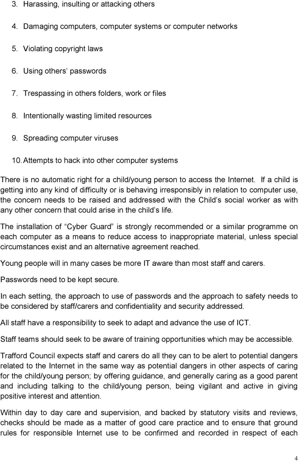 Services for Children, Young People and Families - PDF