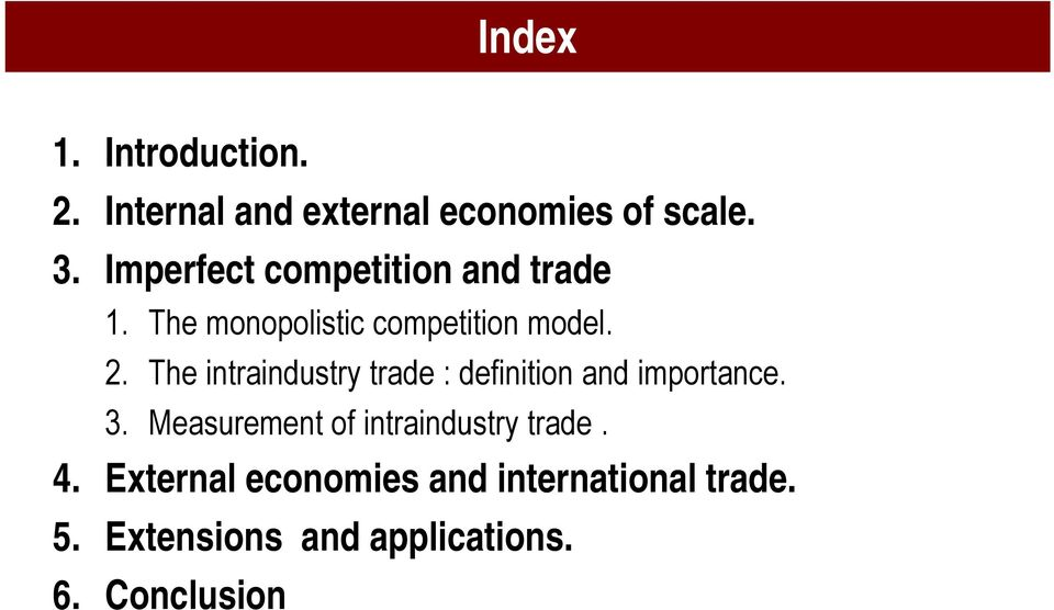 intra industry trade definition