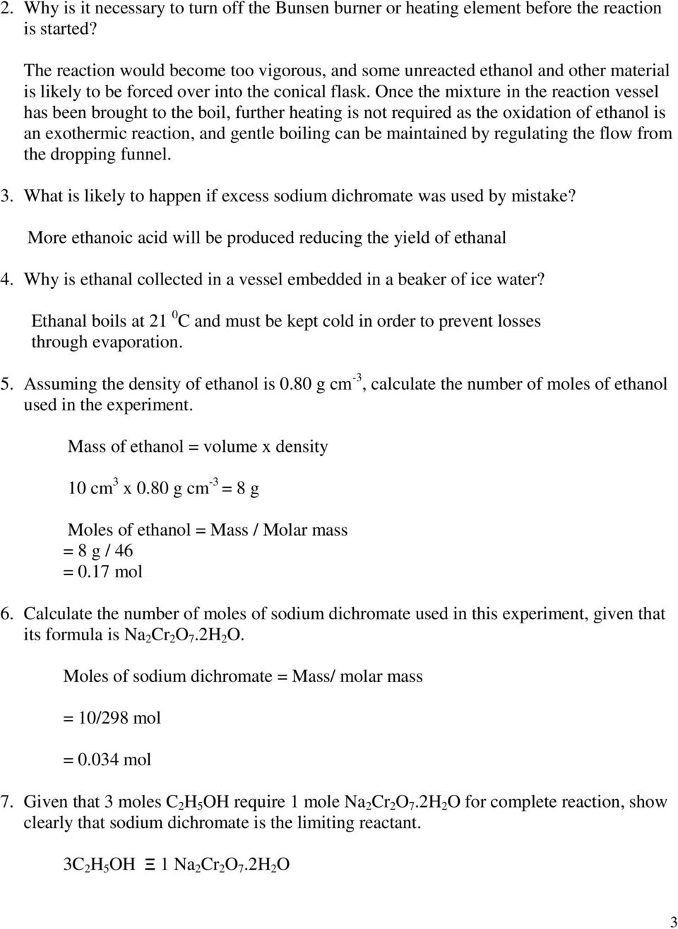 Suggested Solutions to student questions(soap) 1  How do you explain