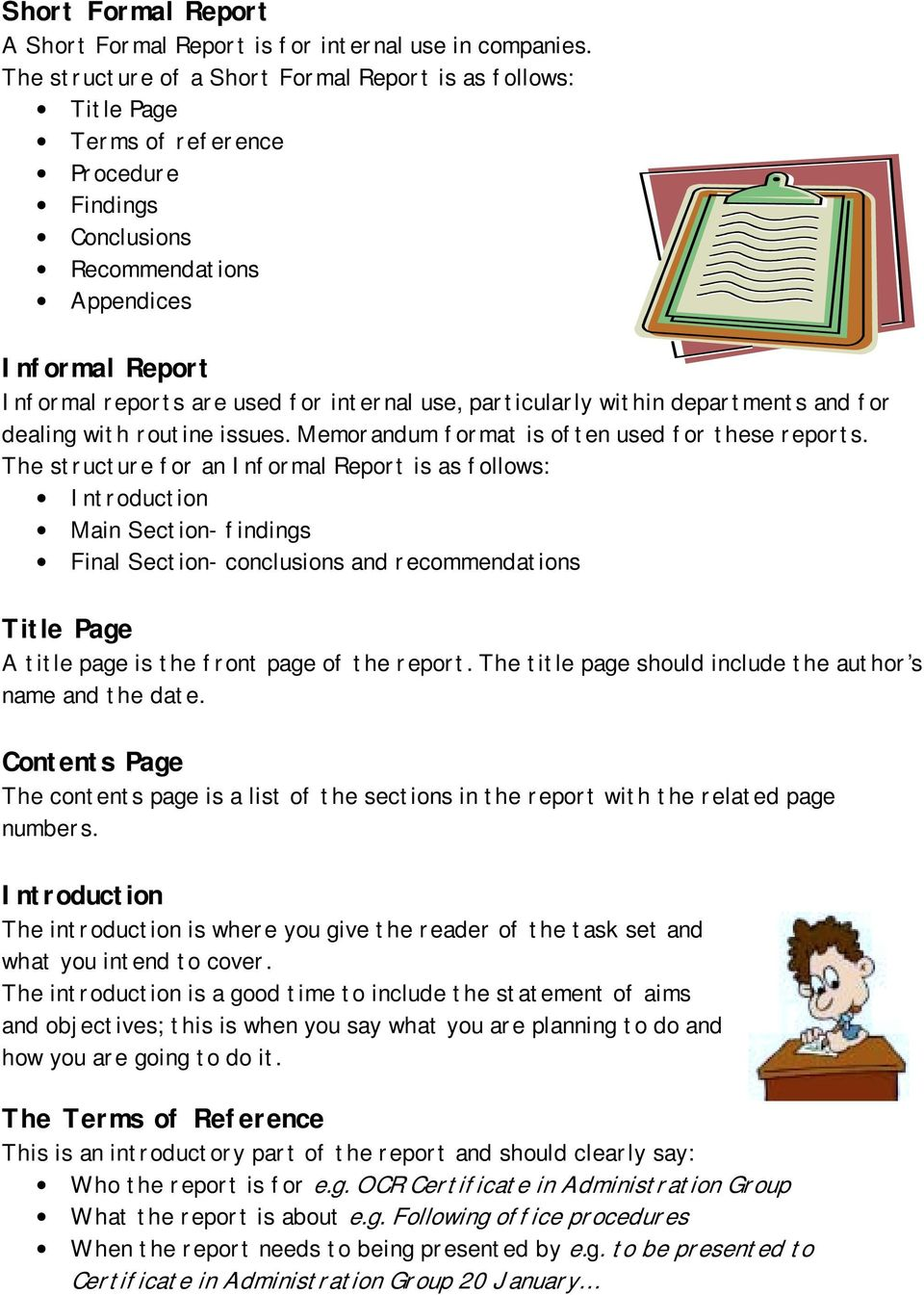 A Guide to Business Report Writing - PDF