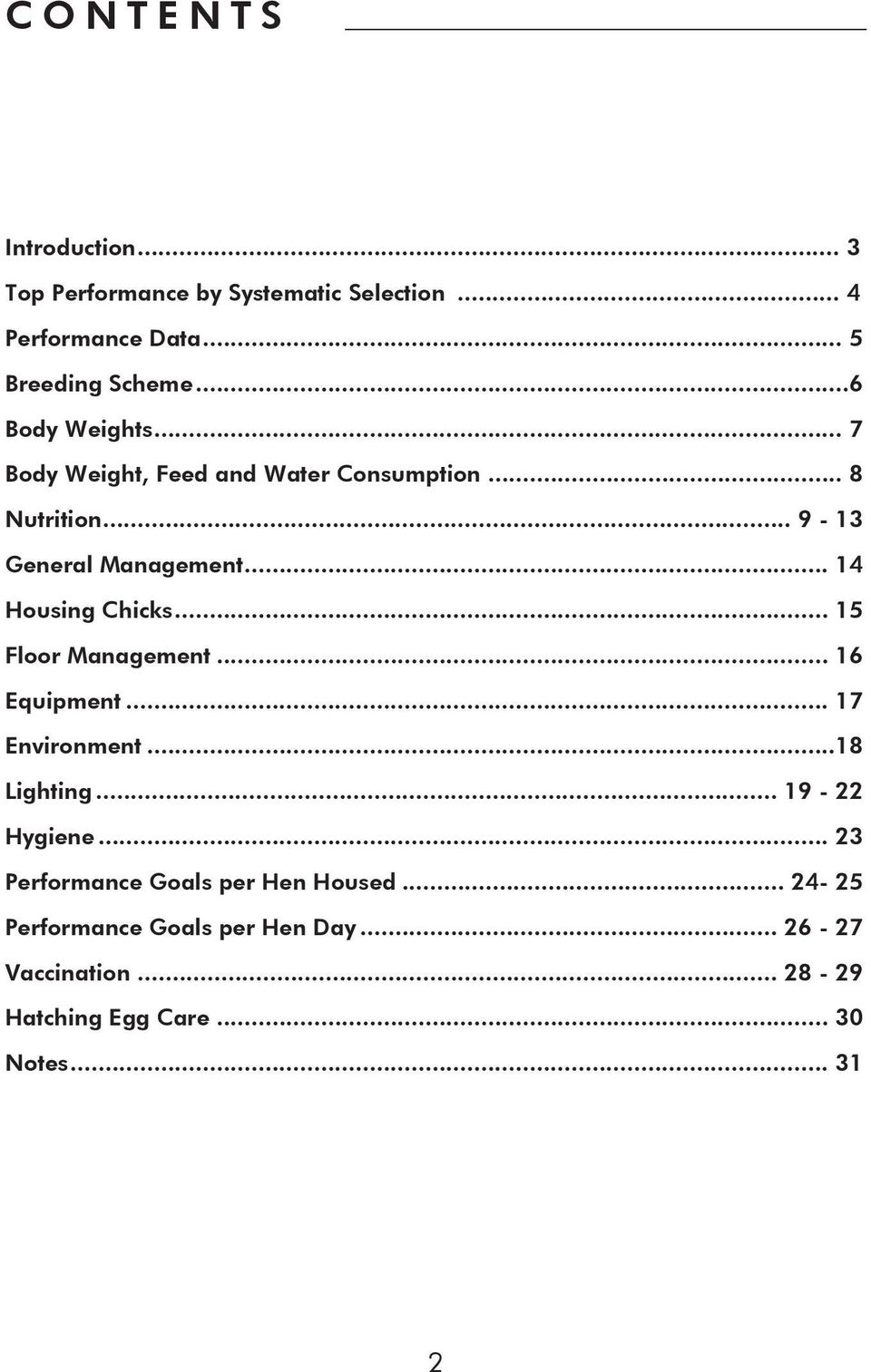 PARENT STOCK MANAGEMENT GUIDE LOHMANN BROWN - PDF