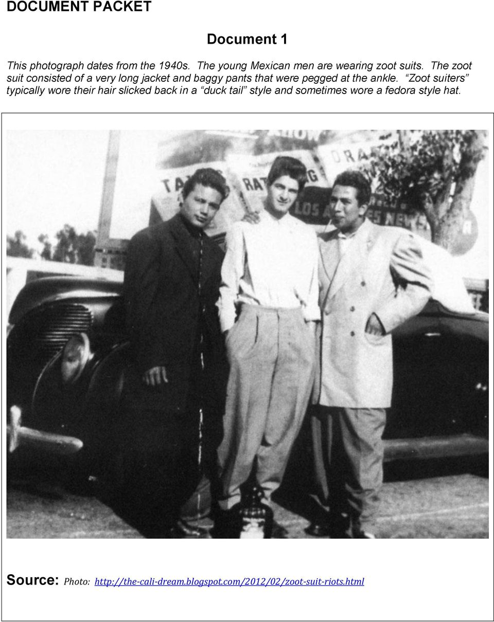 what caused the zoot suit riots