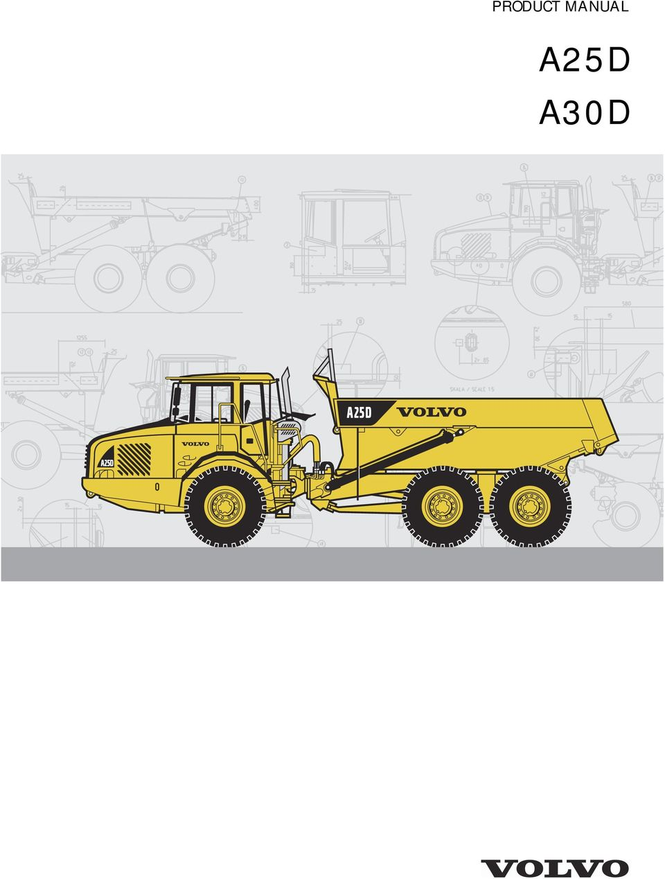 volvo a30f articulated dump truck service repair manual instant download