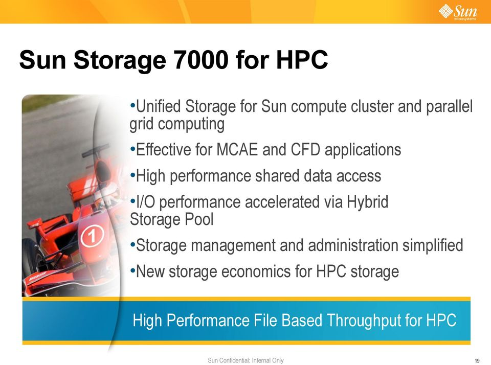 performance accelerated via Hybrid Storage Pool Storage management and administration
