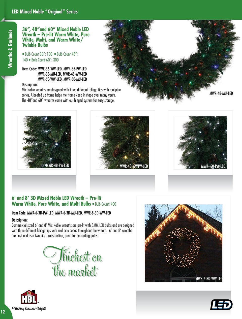 Welcome And Enjoy Our Innovative Quality Holiday Product Line Pdf Developing A Circuit That Will Use Many Leds Mixing Ordinary 5mm With Real Pine Cones Beefed Up Frame Helps The Keep It Shape Over
