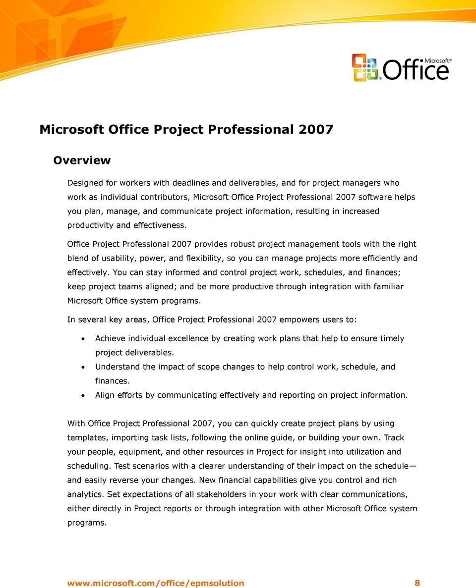 Key microsoft office project professional 2007   Buy cheaps