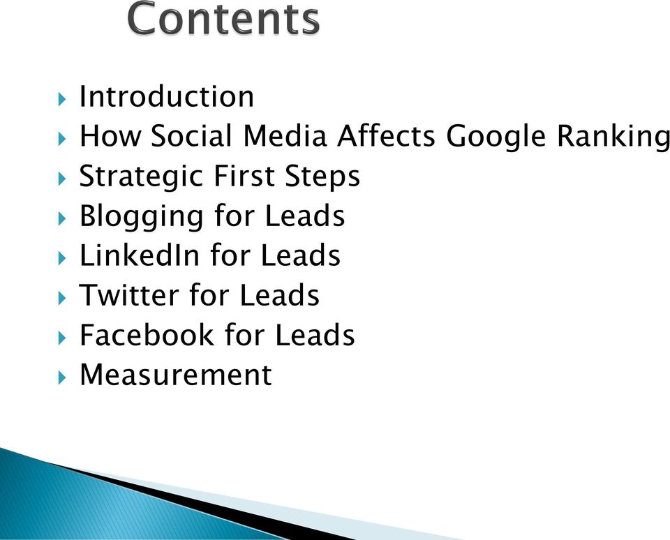 Blogging for Leads LinkedIn for Leads