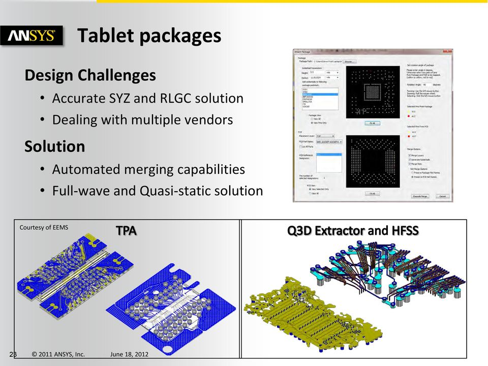 ANSYS for Tablet Computer Design - PDF