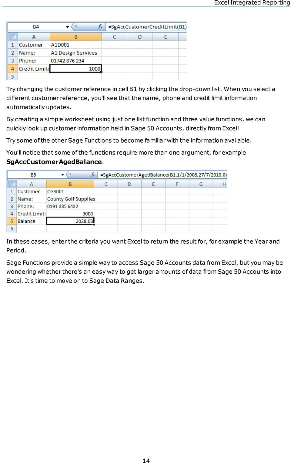 Excel spreadsheet 2010: new functionality and familiar convenience 49