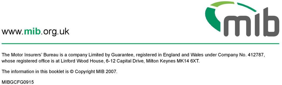 registered in England and Wales under Company No.