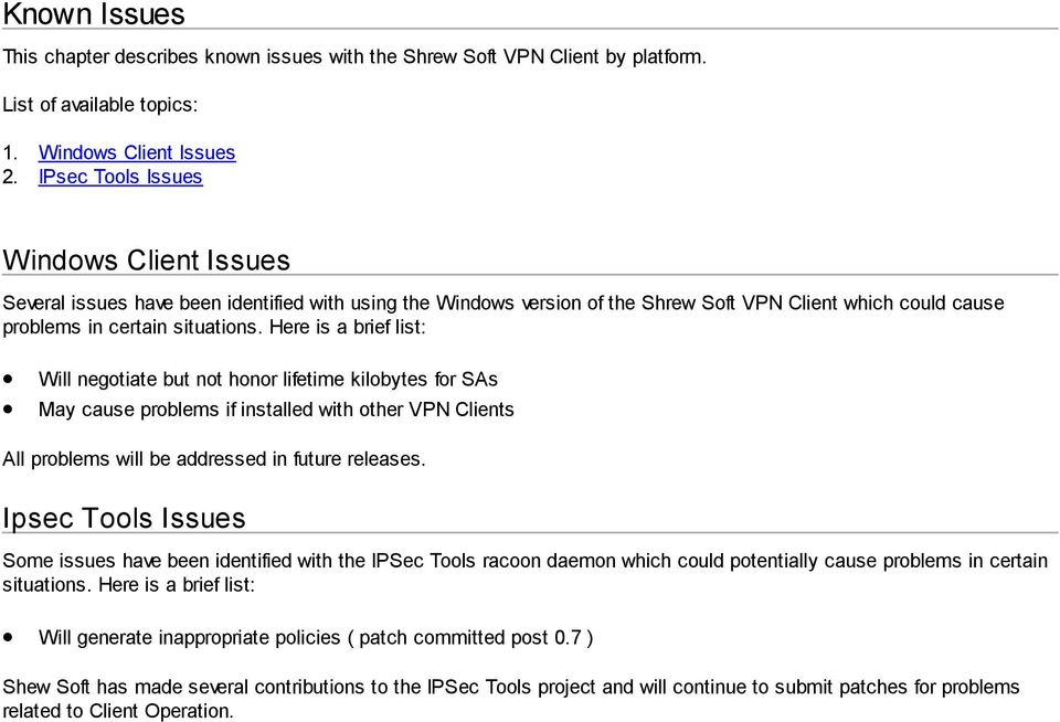 Shrew Soft VPN Client Administrators Guide - PDF