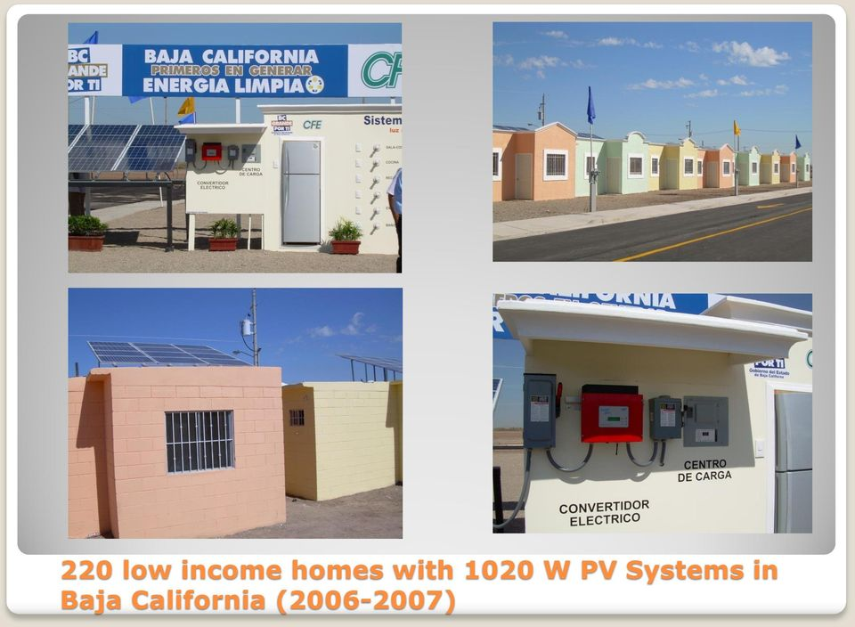 PV Systems in Baja
