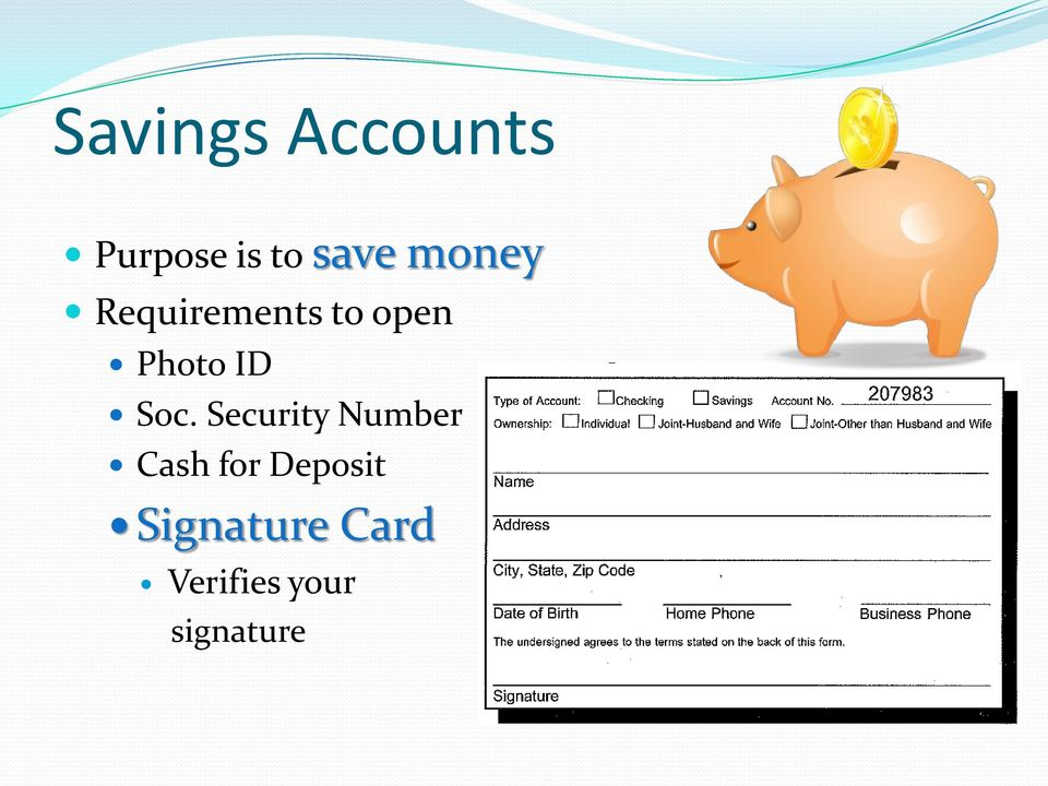 Soc. Security Number Cash for