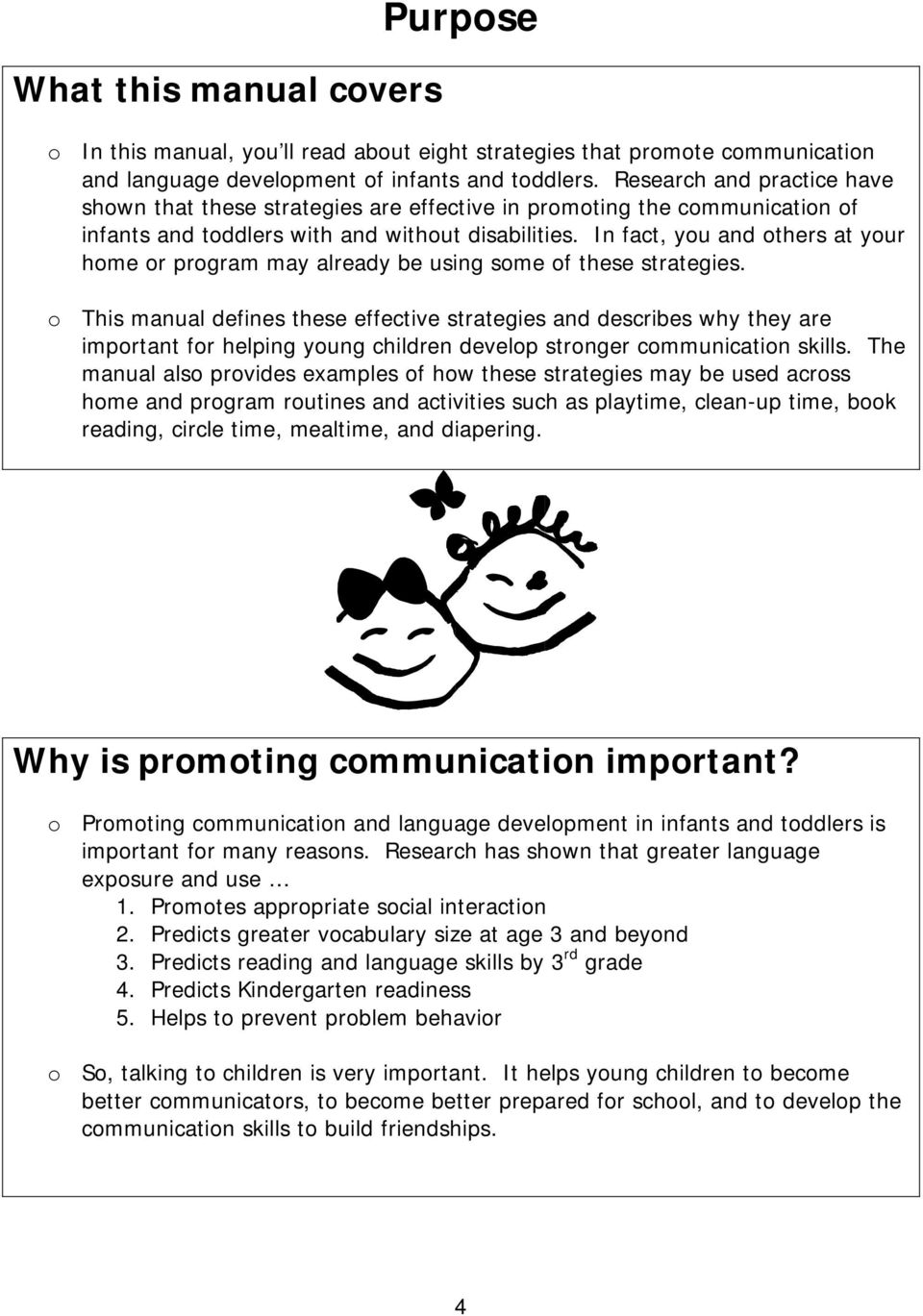 Language At 3 Predicts 3rd Grade >> Strategies For Promoting Communication And Language Of Infants And