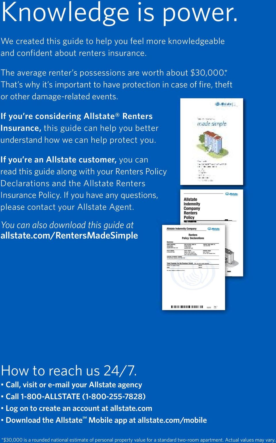 Made Simple Renters Insurance What S Inside Pdf Free Download