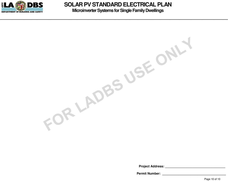 solar pv standard electrical plan microinverter systems for singleElectrical Plan Of Single Family Dwelling #19
