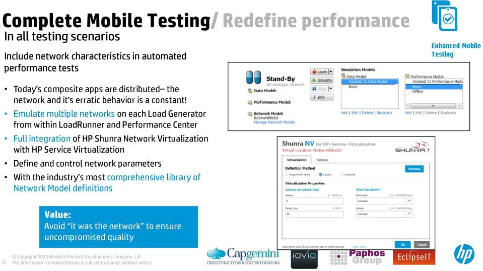 HP ALM Masters 2014 Performance testing Modern Applications
