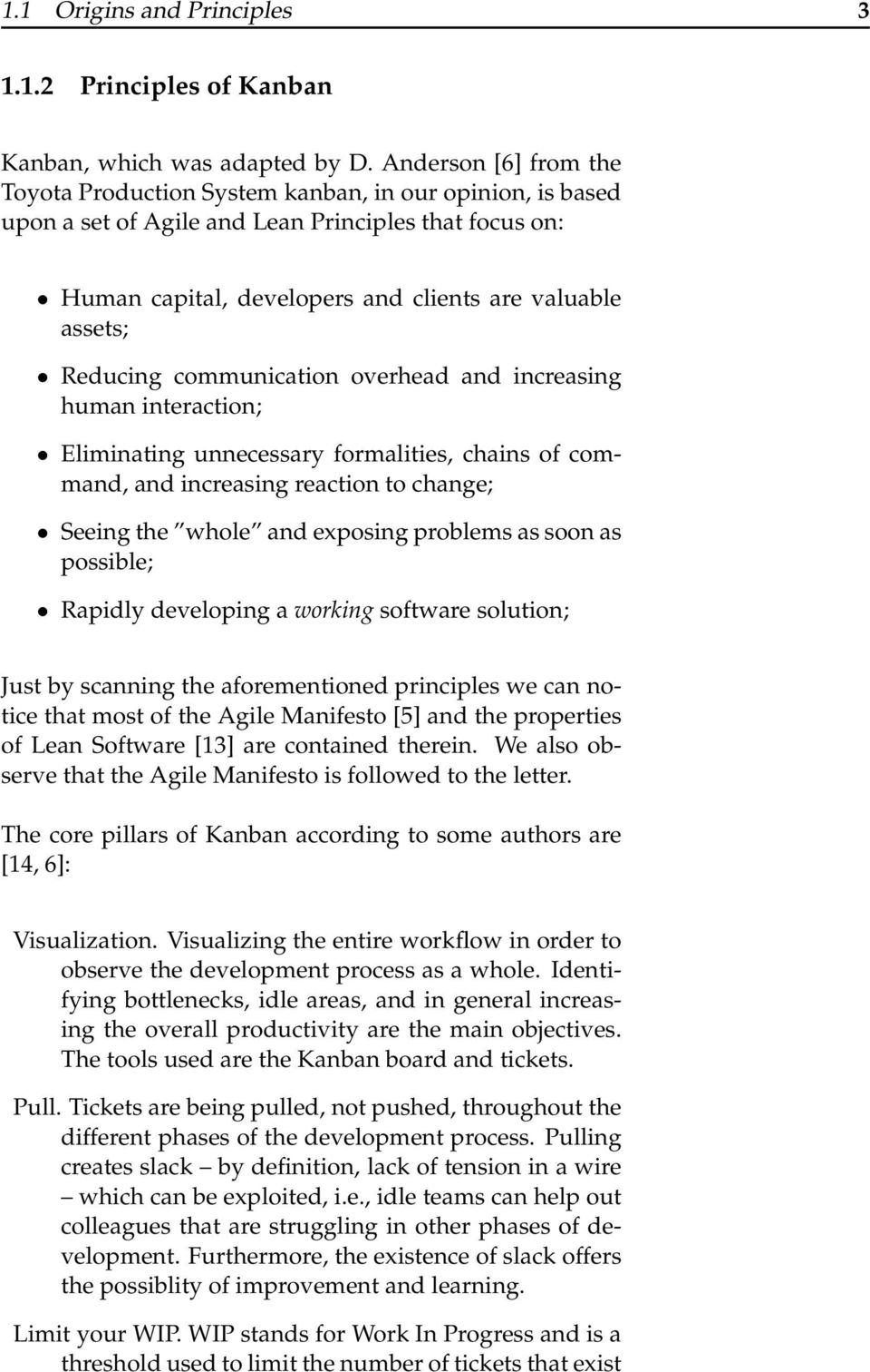 Kanban in a nutshell  Chapter Origins and Principles - PDF
