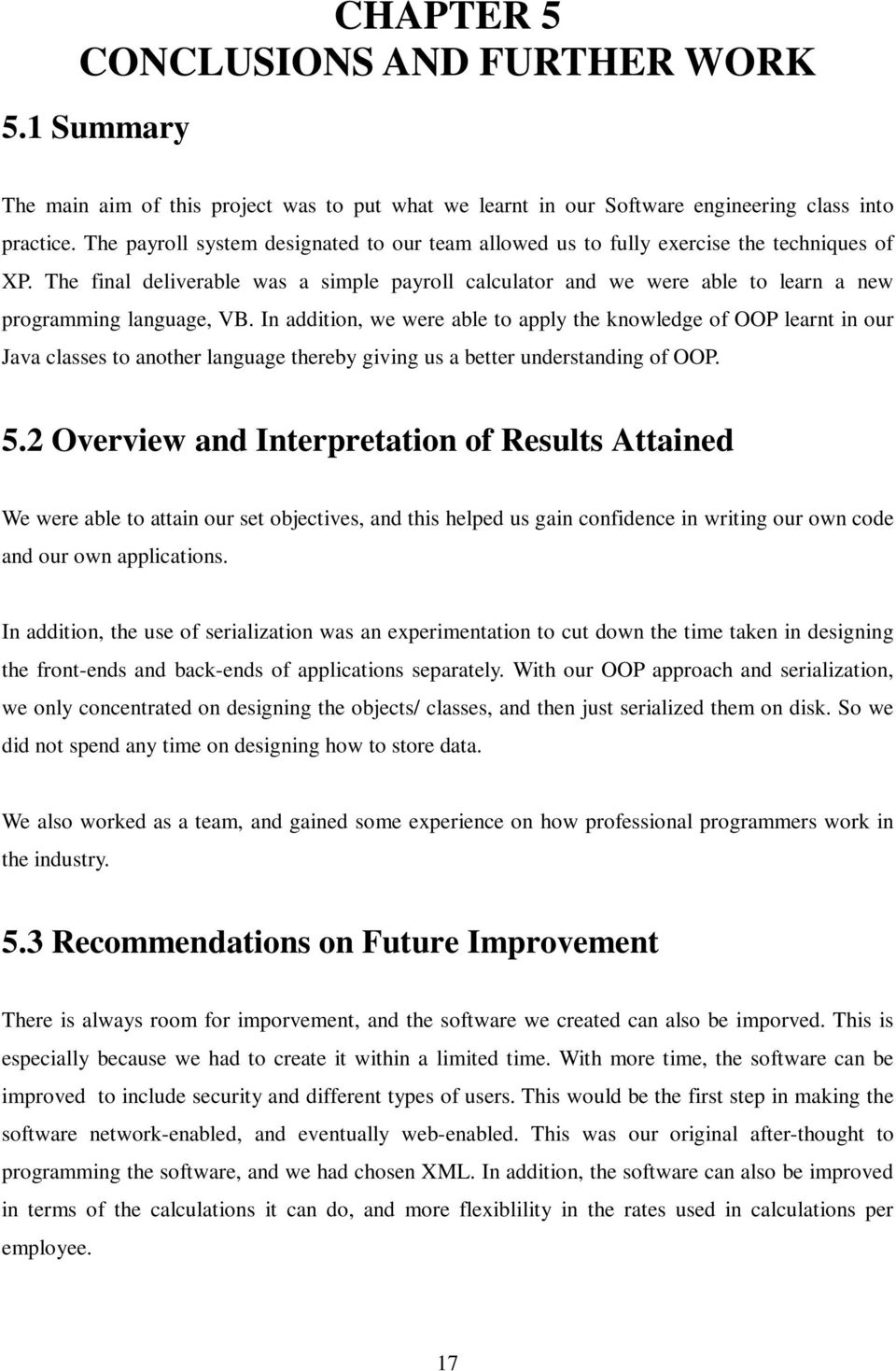 project report on payroll system pdf