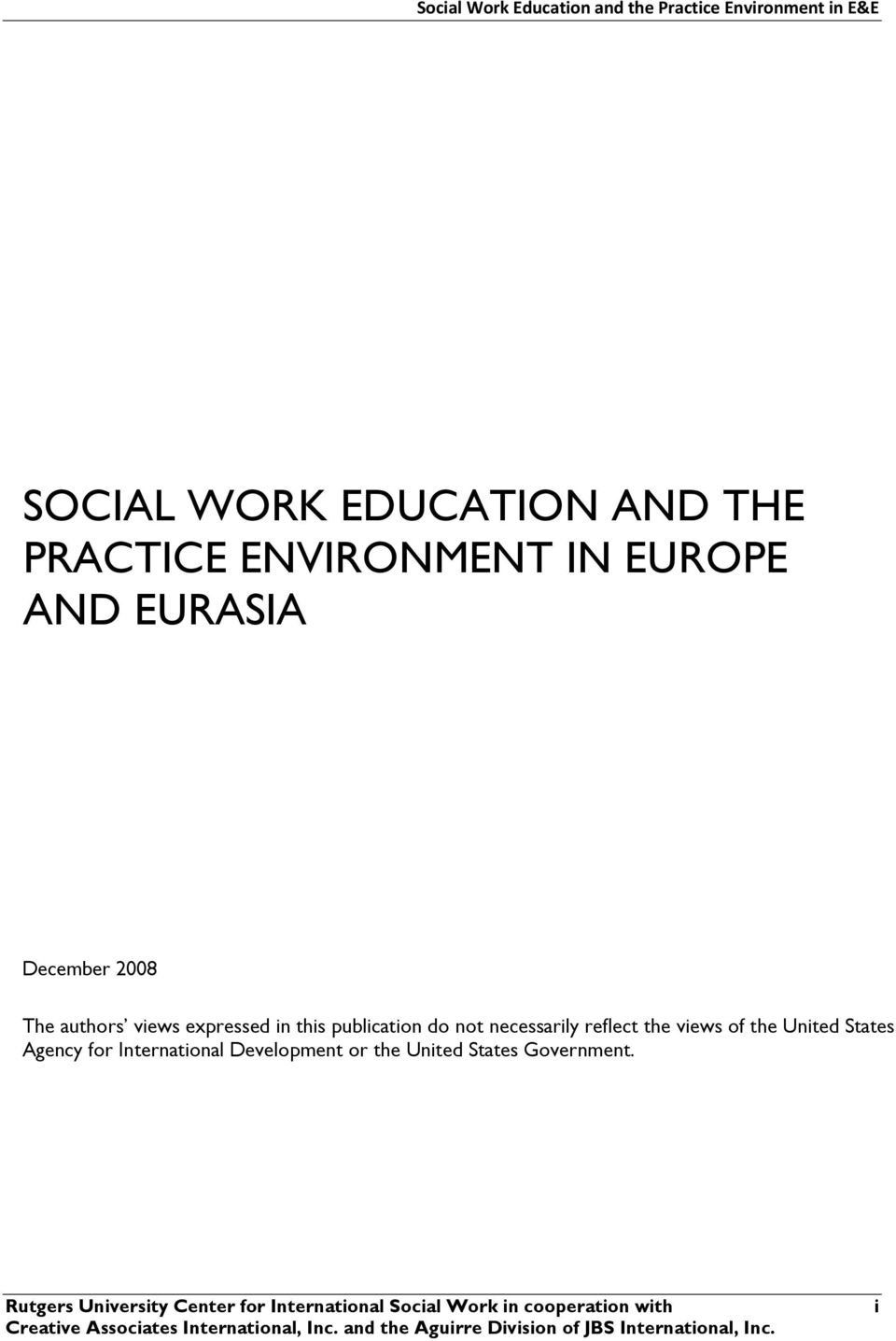 views of the United States Agency for International Development or the United States