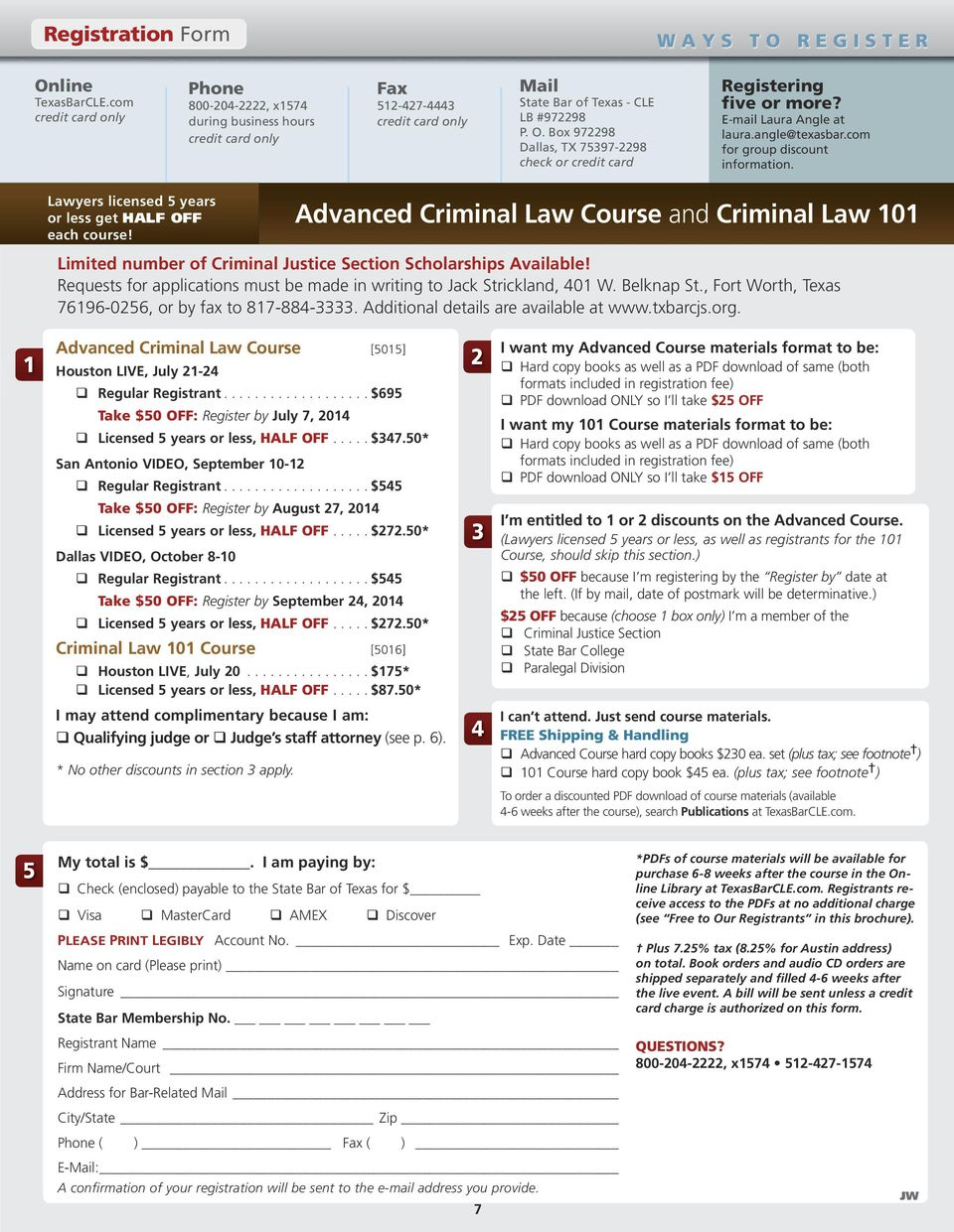 Advanced Criminal Law Course - PDF