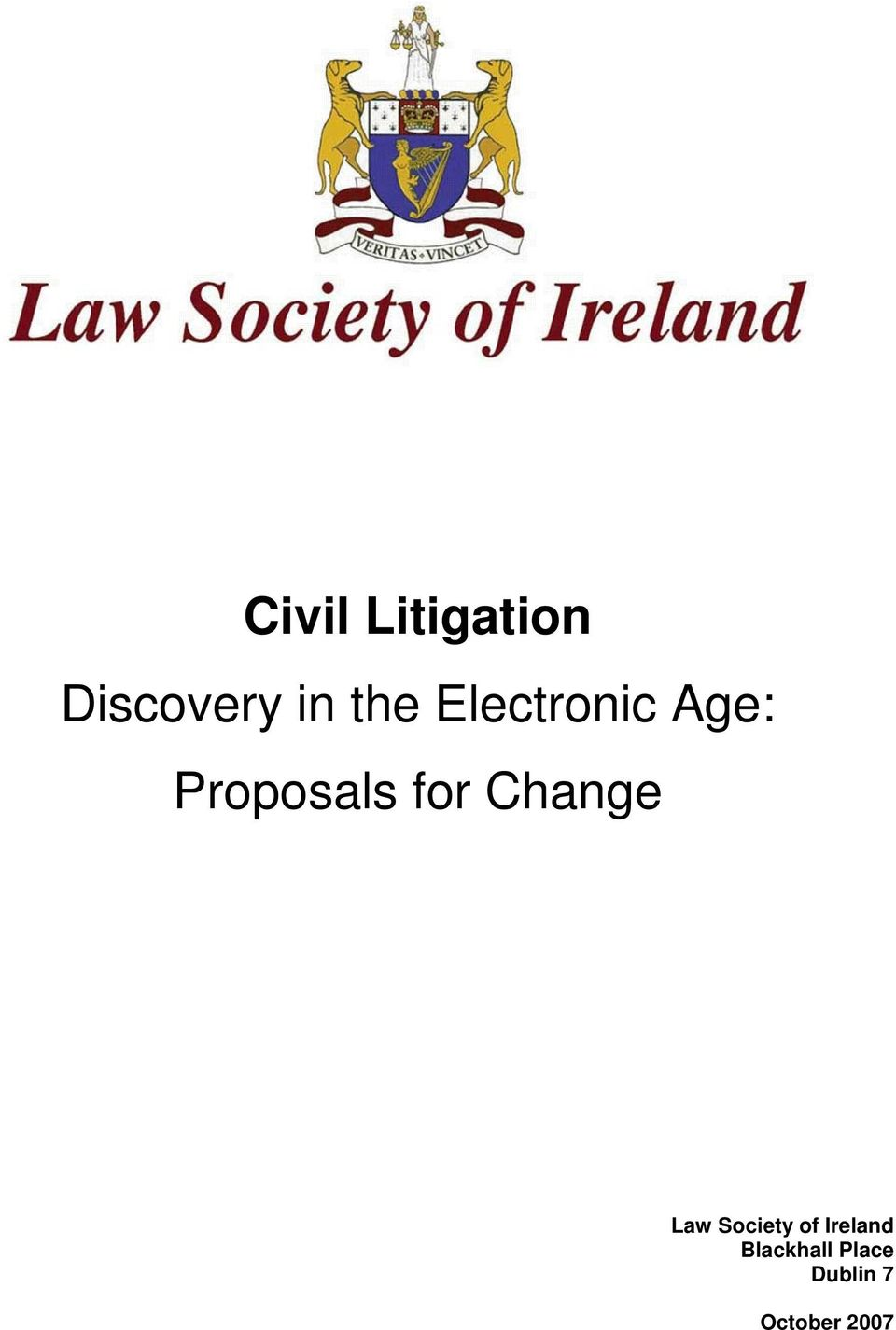 for Change Law Society of