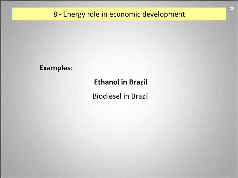 20 Examples: Ethanol