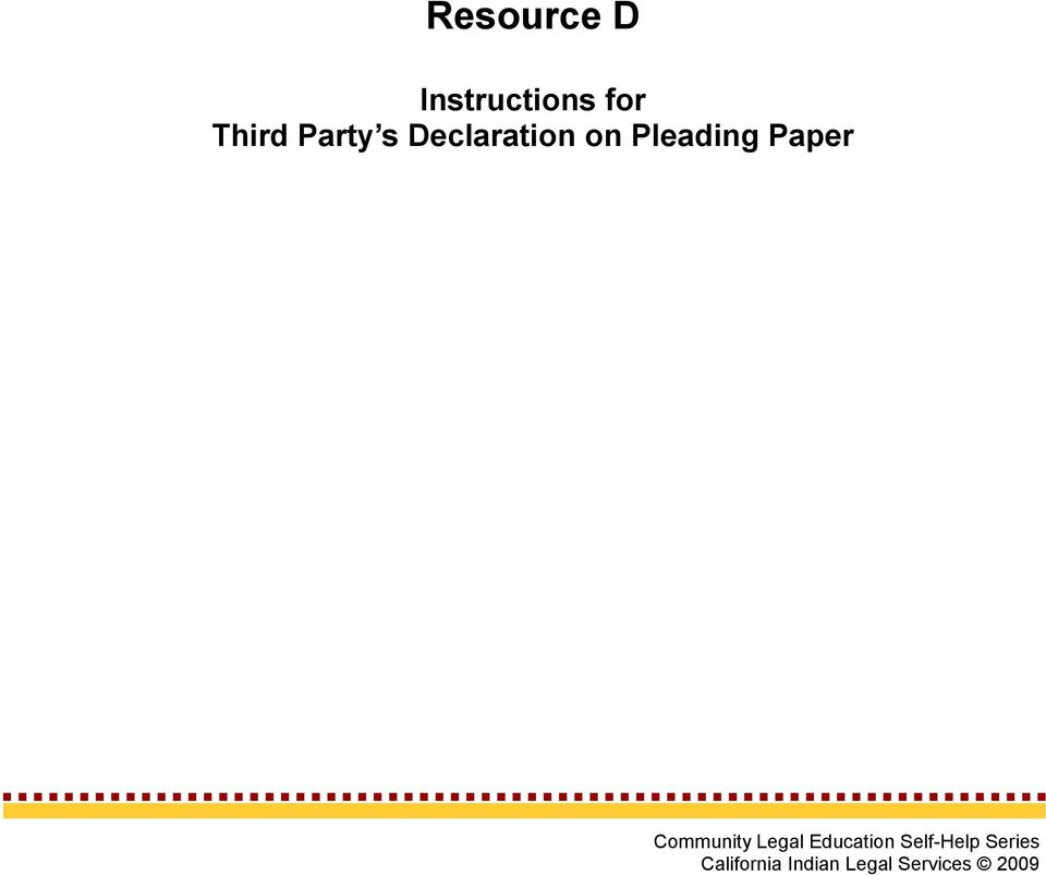 Section 7: Resources - PDF