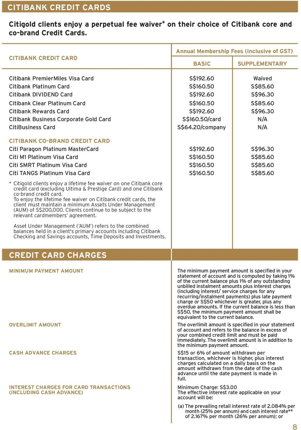 Pricing Guide  A comprehensive guide to an array of