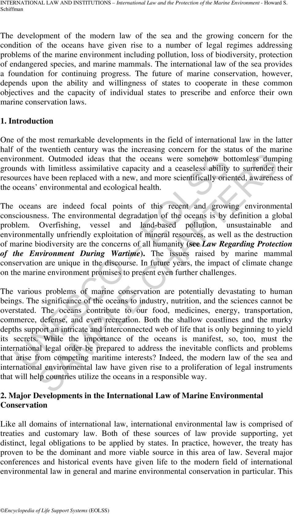 International law on the protection of common interests 15