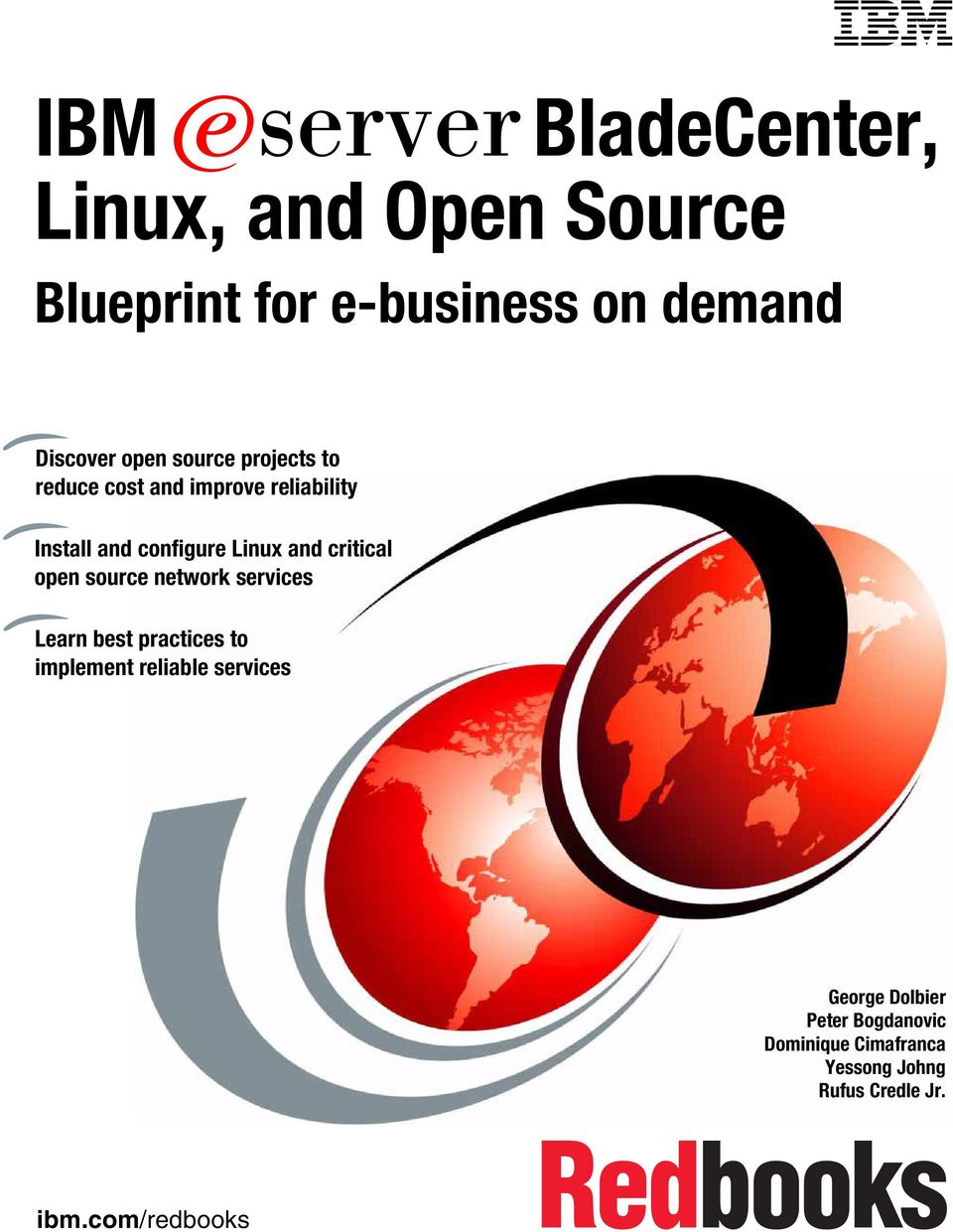 and critical open source network services Learn best practices to implement reliable services