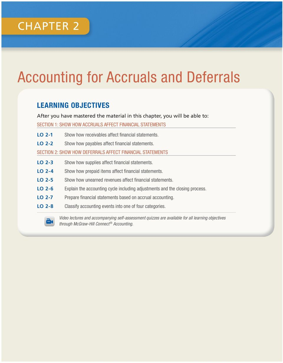 Accounting for Accruals and Deferrals - PDF