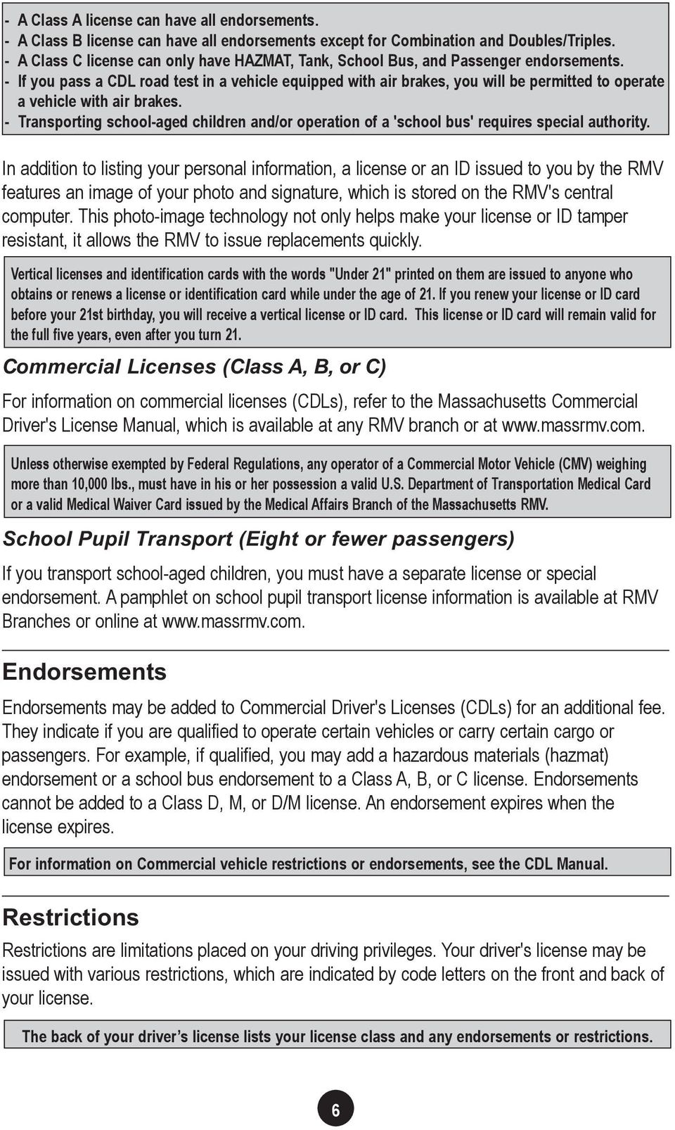 CHAPTER 1  Obtaining Your License - PDF