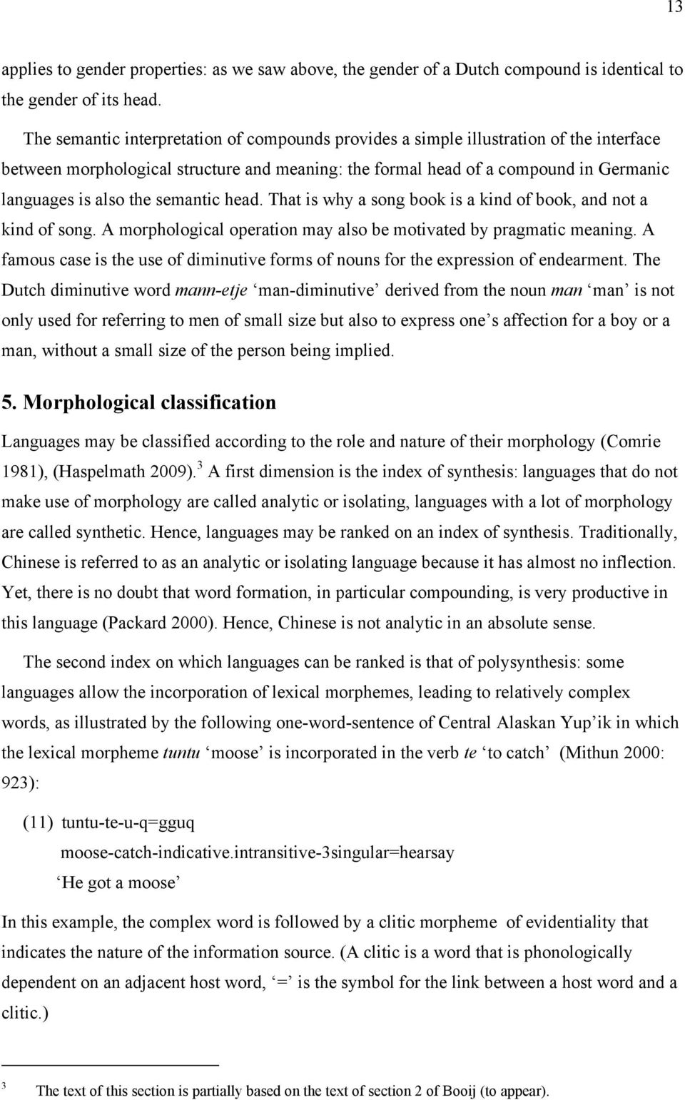 Chapter 7 Morphology: the structure of words - PDF