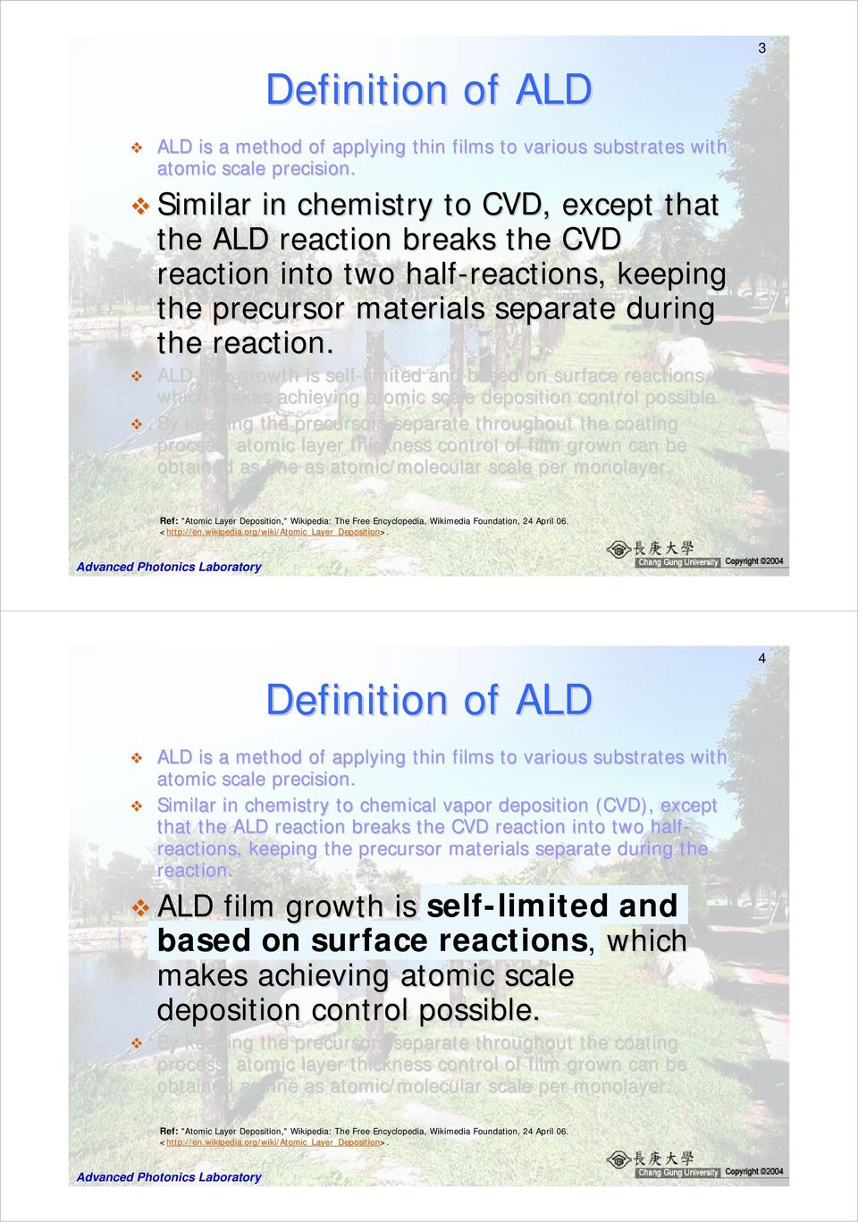 Chapter 7-1  Definition of ALD - PDF