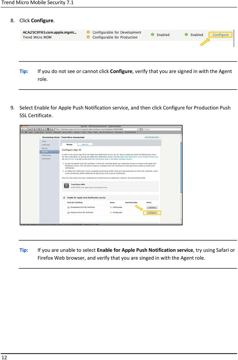 Guide For Generating Apple Push Notification Service Certificate Pdf