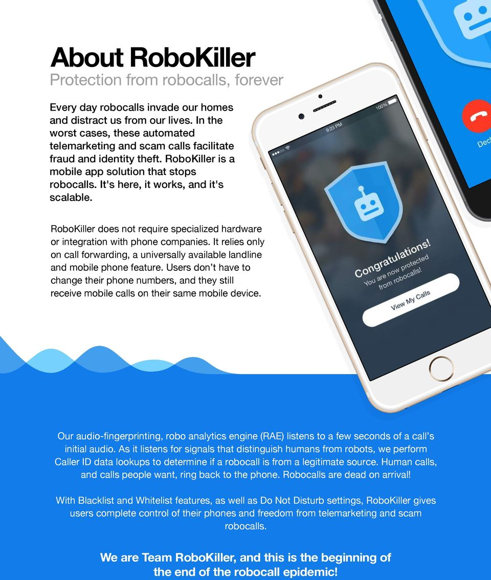 RoboKiller Protection from robocalls once and for all! - PDF