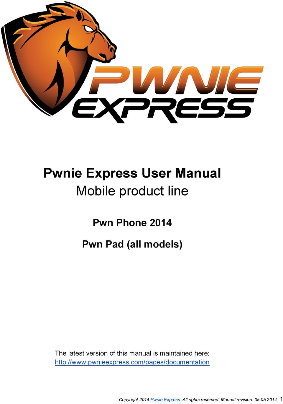 Pwnie Express User Manual Mobile product line - PDF