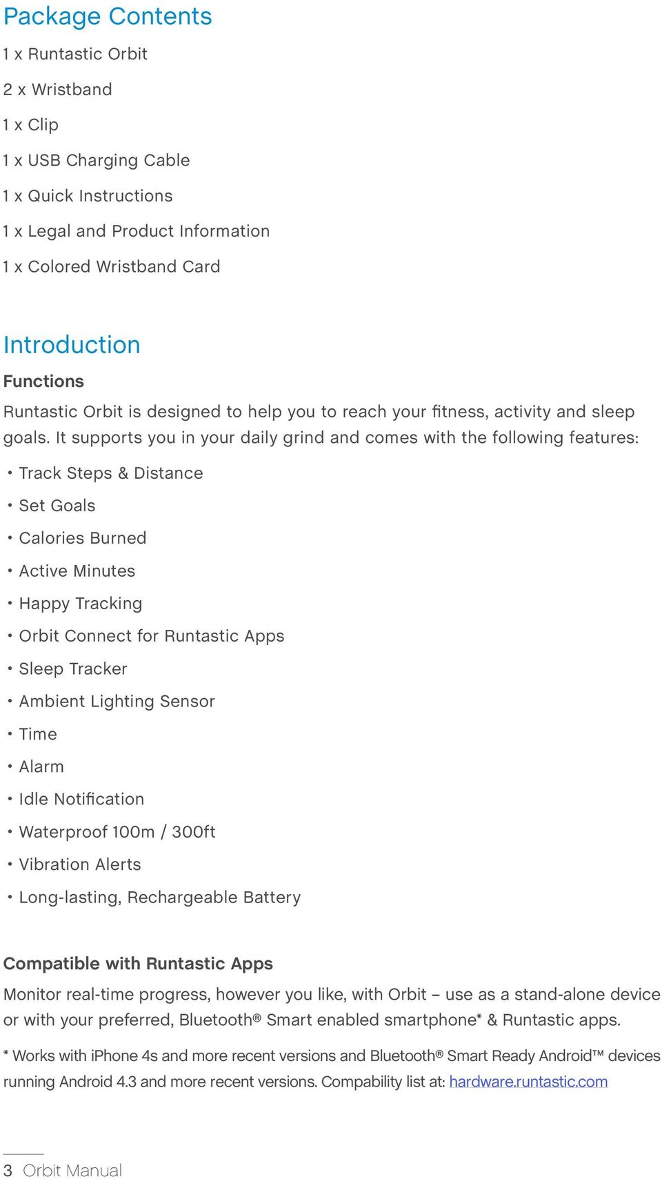 5b37922d7326 It supports you in your daily grind and comes with the following features   Track Steps